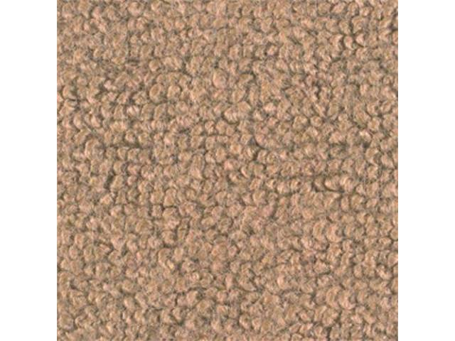 CARPET Raylon Weave parchment has toe pad