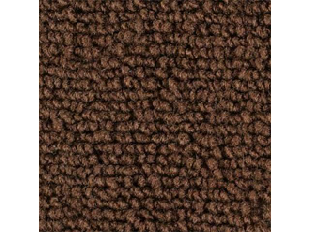 CARPET LOOPED NYLON WEAVE 69-70 BROWN FRONT AND