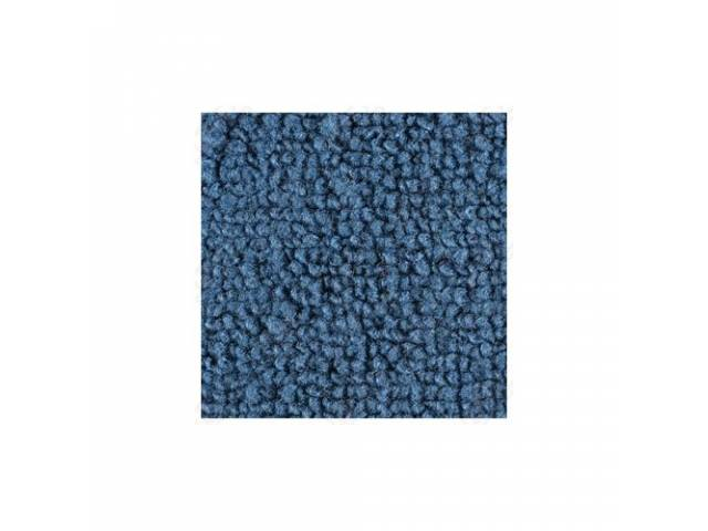 CARPET LOOPED NYLON WEAVE 69-70 FORD BLUE FRONT