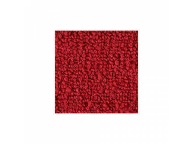 CARPET LOOPED NYLON WEAVE 69-70 RED FRONT AND