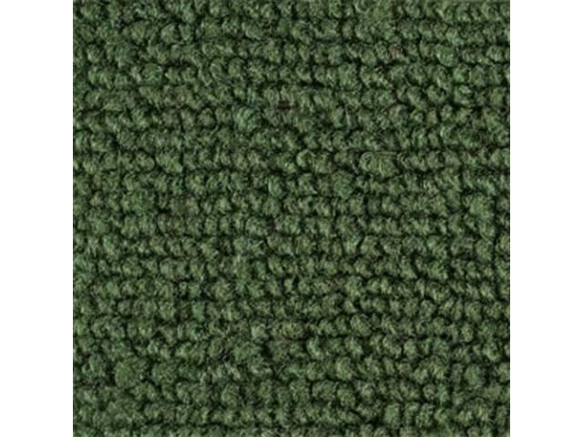 CARPET LOOPED NYLON WEAVE 69-70 DARKER GREEN FRONT