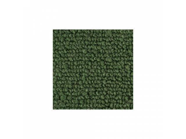 CARPET LOOPED NYLON WEAVE 69-70 GREEN when out