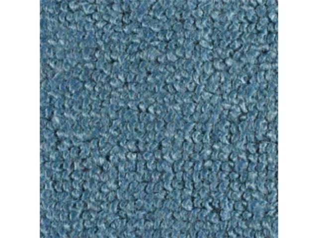 CARPET FOLD DOWN AREA RAYLON WEAVE FORD BLUE
