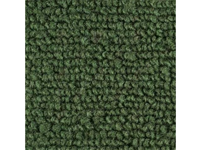 CARPET FOLD DOWN AREA RAYLON WEAVE MEDIUM GREEN