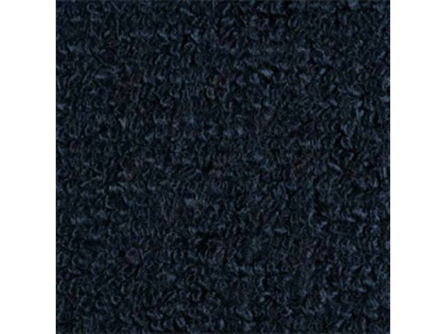 CARPET FOLD DOWN AREA RAYLON WEAVE DARK BLUE