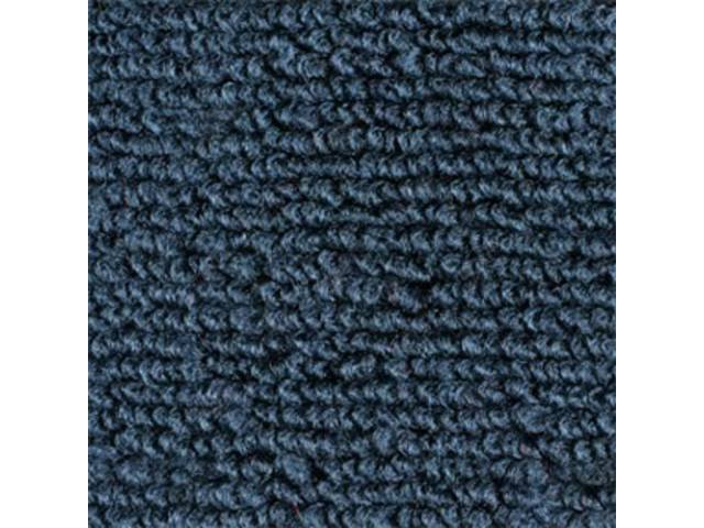 CARPET, FOLD DOWN AREA, NYLON WEAVE, DARK BLUE,