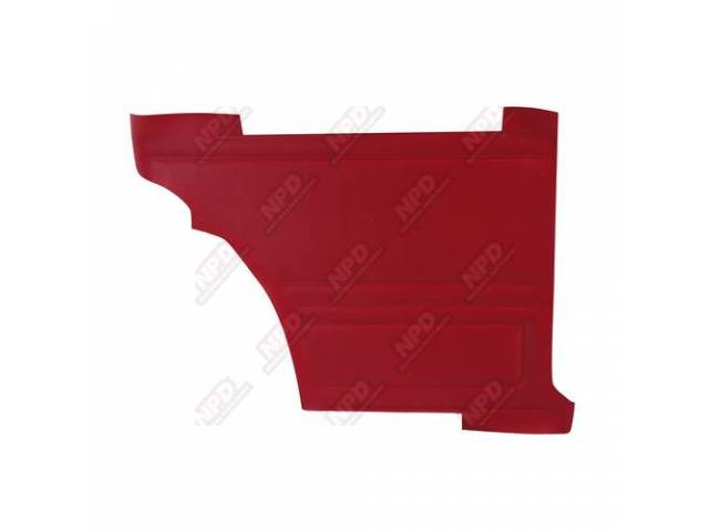 Panel Set Premium Inside Quarter Std Red Madrid