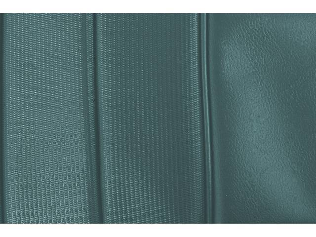 UPHOLSTERY SET, PREMIUM, Front Buckets, Dlx, Turquoise, Madrid