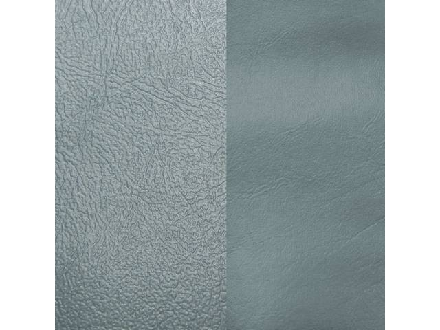 Upholstery Set Rear Dlx Light Blue Sierra Grain