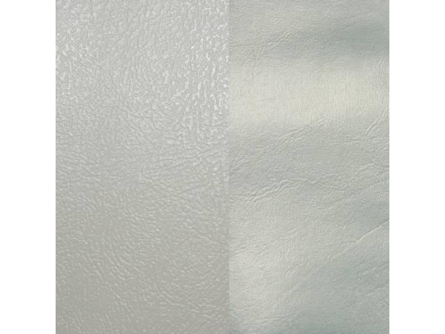 Upholstery Set Rear Dlx White Sierra Grain Vinyl