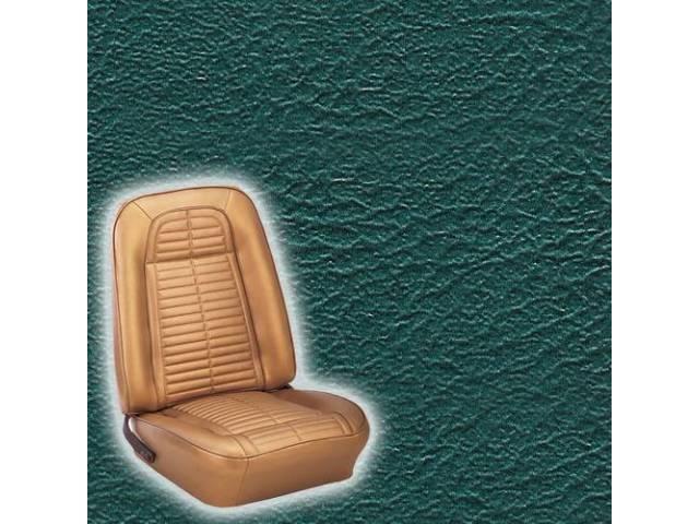 Upholstery Set Premium Rear Dlx Dark Metallic Turquoise