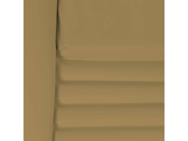 Upholstery Set Premium Rear Dlx Camel Tan Doeskin