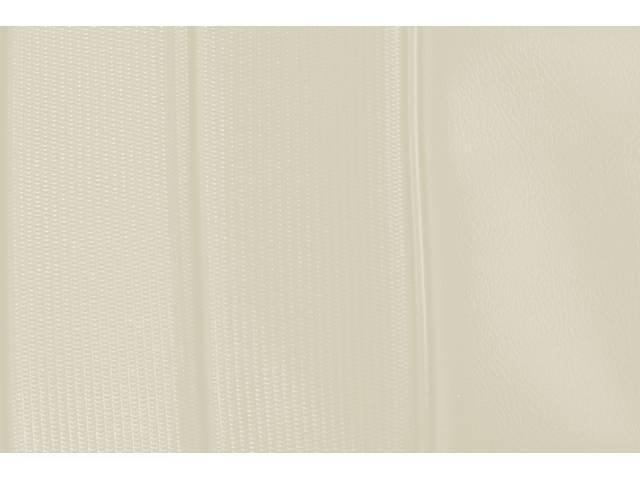 Upholstery Set Premium Rear Dlx Metallic Parchment Madrid