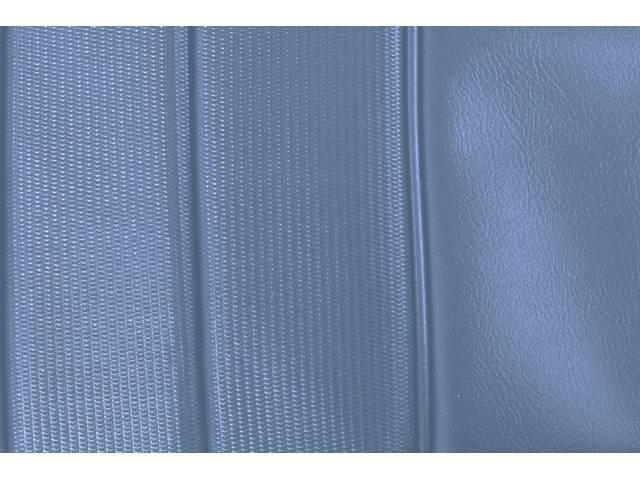 UPHOLSTERY SET, PREMIUM, Rear, Dlx, Bright Blue, Madrid