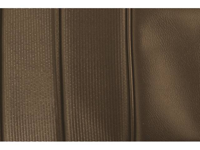 Upholstery Set Premium Rear Dlx Burnished Saddle Madrid
