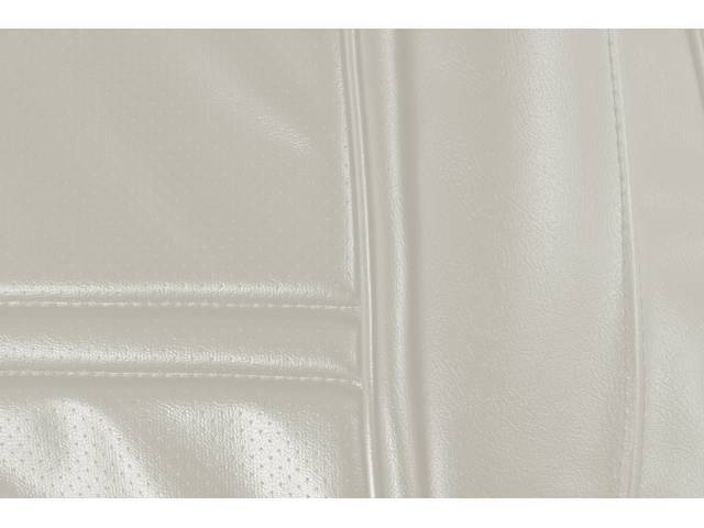 UPHOLSTERY SET, PREMIUM, Rear, Dlx, White, Madrid Grain