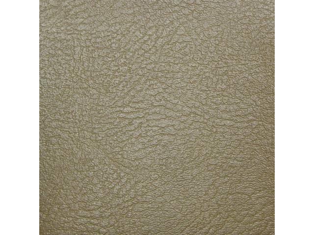 Upholstery Set Rear Std Mustard Gold Madrid Grain
