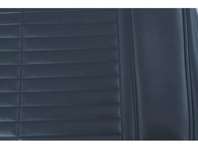 UPHOLSTERY SET, PREMIUM, Rear, Std, Metallic Blue, Madrid