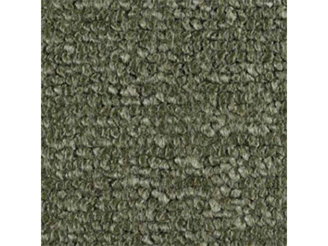 Carpet Raylon Loop Style Two Piece Moss Green