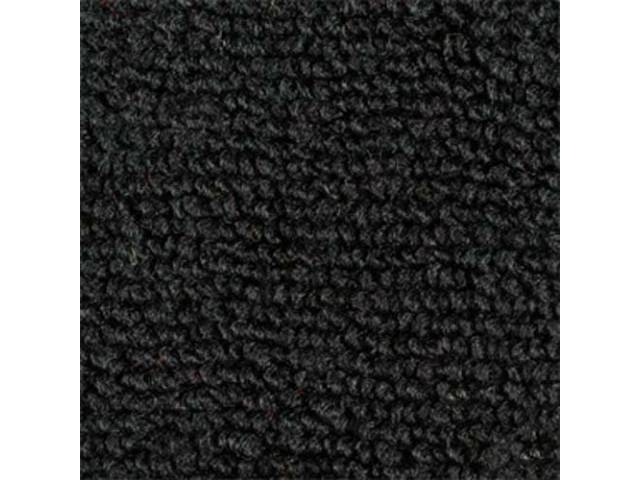 Carpet Raylon Loop Style Two Piece Black A/T