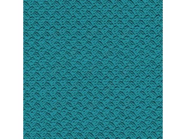 Headliner Premium Light Turquoise Basketweave Grain Oe Called