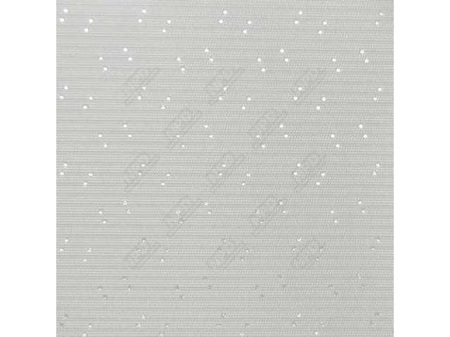 Headliner Premium White Perforated Grain Oe Called Whipcord