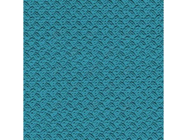 HEADLINER, Premium, Turquoise, Basketweave grain (OE called Regent),