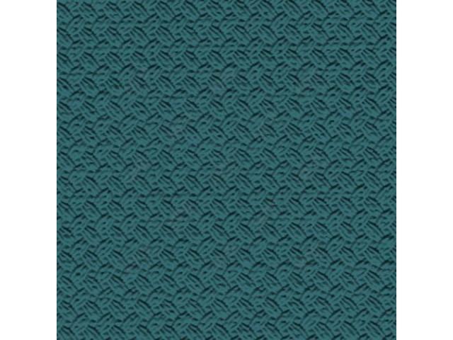 HEADLINER, Premium, Medium Turquoise, Basketweave grain (OE called