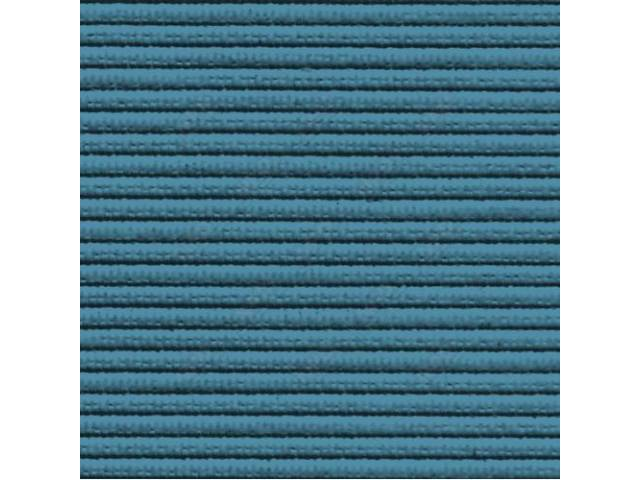 Headliner Premium Dark Turquoise Ribbed Grain Oe Called
