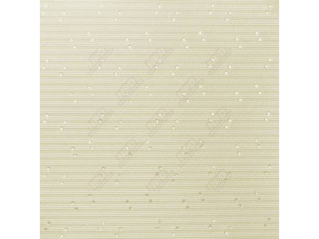 Headliner Premium White Perforated Grain Oe Called Taffeta