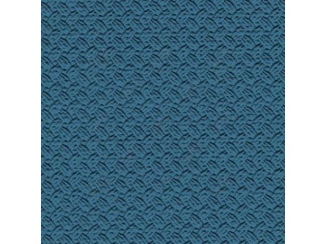Headliner Premium Medium Blue Basketweave Grain Oe Called