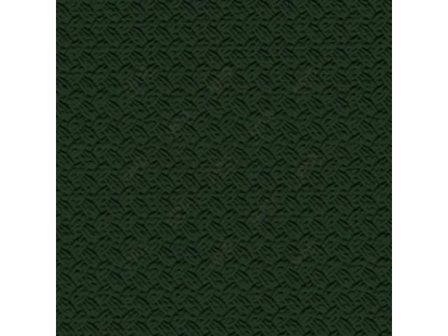 HEADLINER, Premium, Dark Green, Basketweave grain (OE called