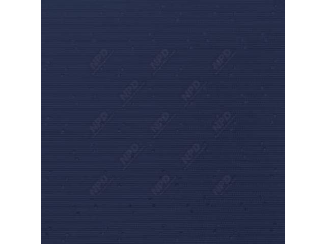 HEADLINER, Premium, Dark Blue, Perforated grain (OE called