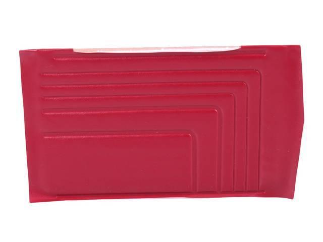 PANEL SET, Inside Quarter, Std, Metallic Red (actual