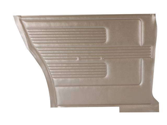 PANEL SET, Inside Quarter, Std, Gold (actual color,