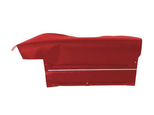 PANEL SET, Inside Quarter, Std, Red (actual color,