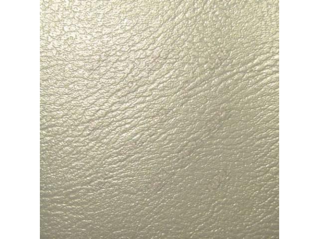 Sunvisor Set Parchment Pui Madrid Grain Vinyl Repro