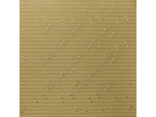 Sunvisor Set Premium Gold Perforated Grain Oe Called