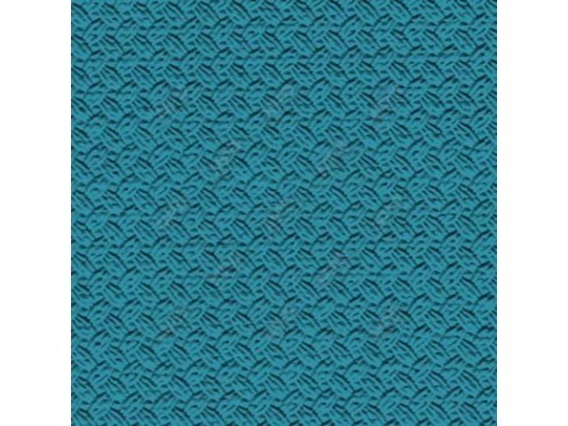 SUNVISOR SET, Premium, Light Turquoise, Basketweave grain (OE