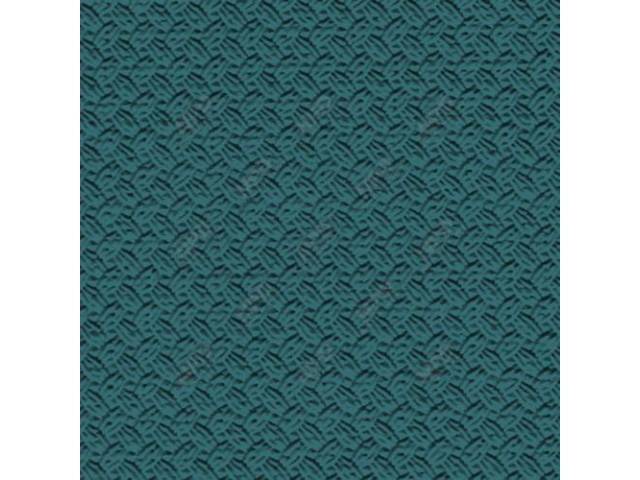 SUNVISOR SET, Premium, Medium Turquoise, Basketweave grain (OE