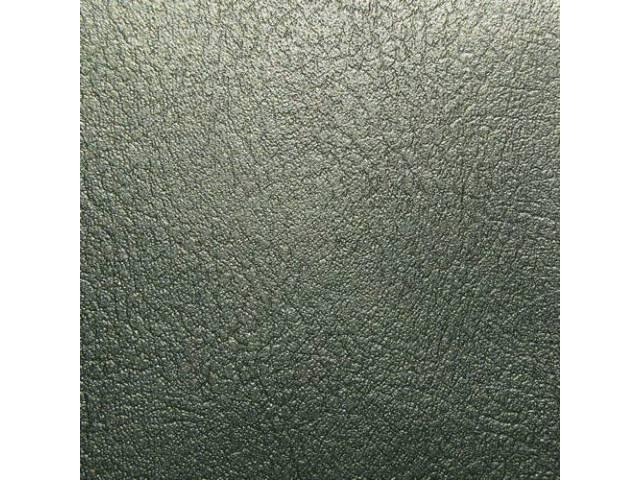 Upholstery Set Front Buckets Dark Metallic Green Actual