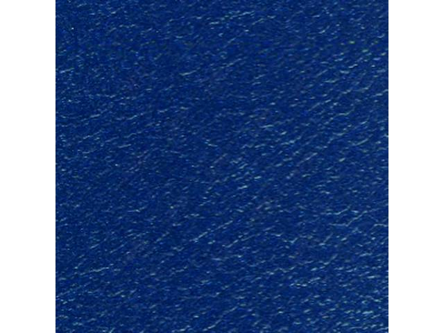 Upholstery Set Premium Front Buckets Dark Metallic Blue
