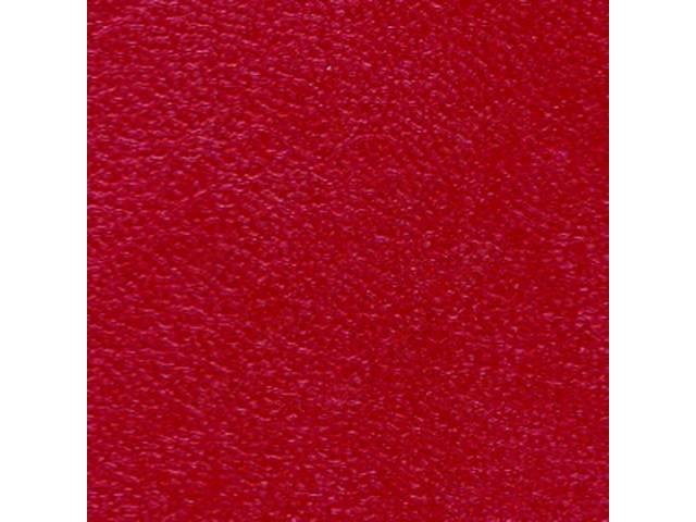 Upholstery Set Premium Front Buckets Metallic Red Legendary