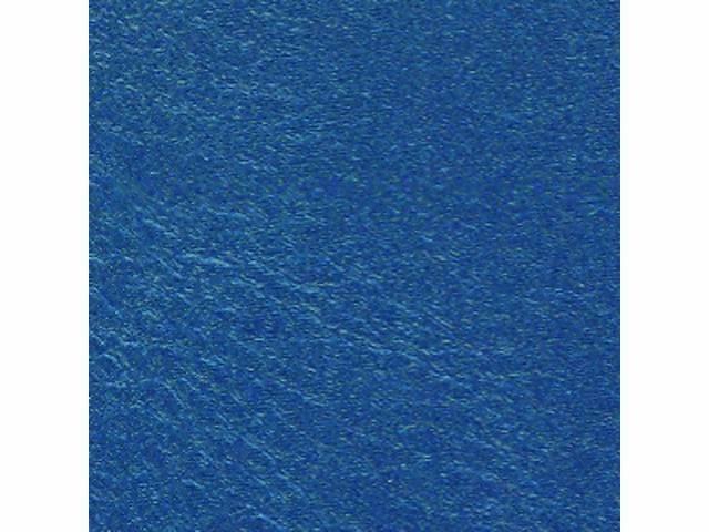 UPHOLSTERY SET, Premium, Front Buckets, Dark Metallic Blue