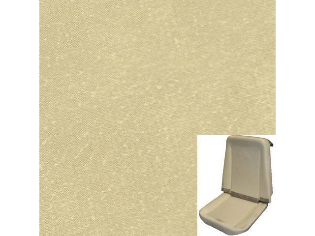 UPHOLSTERY AND FOAM SET, Premium, Rallye Seat Buckets,