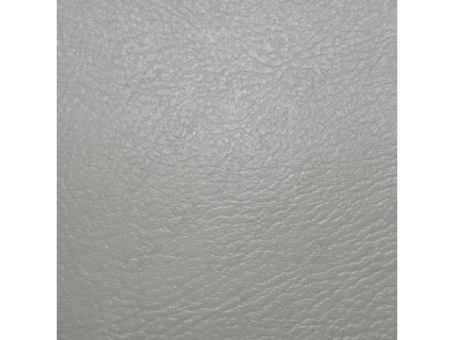 Upholstery Set Rear Seat White Pui Madrid Grain