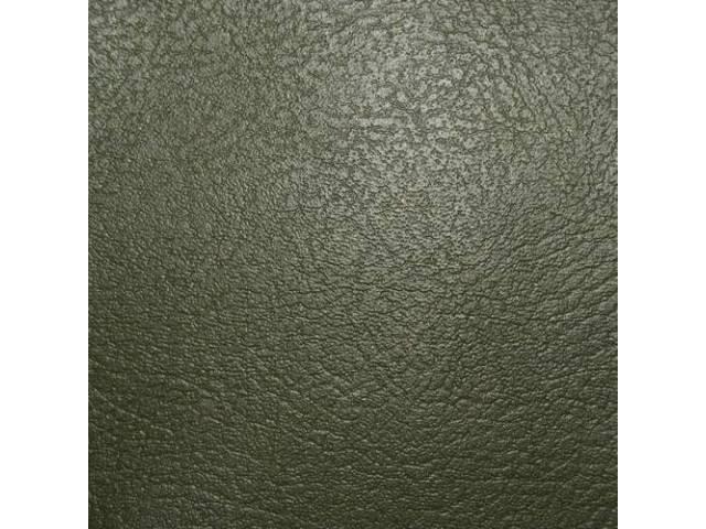 Upholstery Set Rear Seat Dark Green Pui Madrid