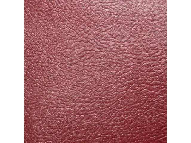 Upholstery Set Rear Seat Metallic Red Pui Madrid