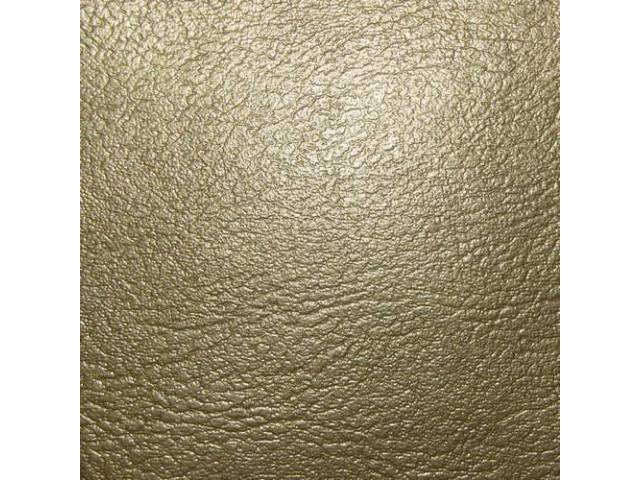 Upholstery Set Rear Seat Gold Pui Madrid Grain