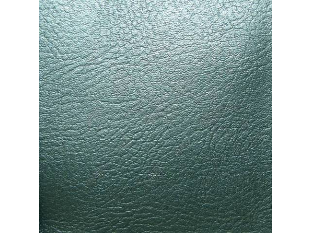UPHOLSTERY SET, Rear Seat, Dark Aqua (actual color,